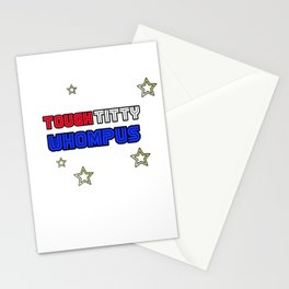 TOUGH TITTY WHOMPUS (STAR & STRIPES) Stationery Cards