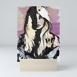 Blonde Mini Art Print