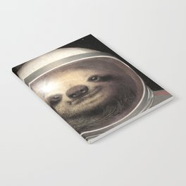 Space Sloth Notebook