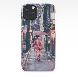 Geisha In Kyoto iPhone Case