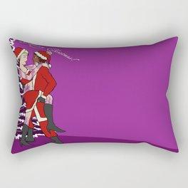 Santa baby Rectangular Pillow