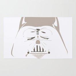 Ghost Darth Vader Rug