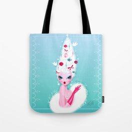 Christmas Coiffure Tote Bag