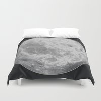 titan Duvet Covers featuring Titan #5 by Tobias Bowman
