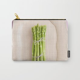 Fresh green asparagus Carry-All Pouch
