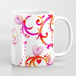 Loved. Loving, Lovable in Feng Shui Colours 2019 Coffee Mug
