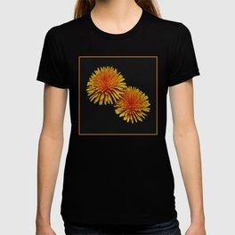 dandelion flying saucers (square) T-shirt