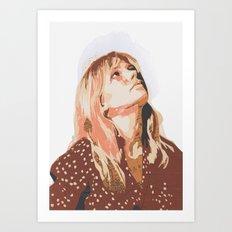 Michelle Art Print