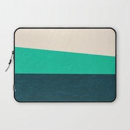 Stripe II Fresh Mint Laptop Sleeve