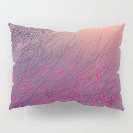 Pink Purple Autumn Dusk Pillow Sham