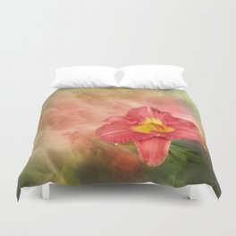 Beautiful day lily Duvet Cover