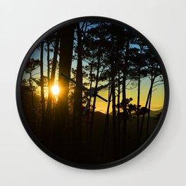Dominican Sunrise Wall Clock