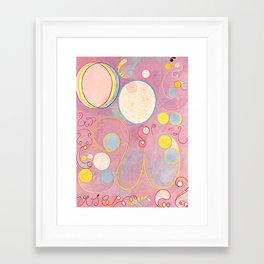 """Hilma af Klint """"The Ten Largest, No. 08, Adulthood, Group IV"""" Framed Art Print"""