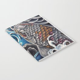 Koi by Sebastian Orth Notebook