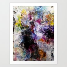Once Was Art Print