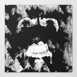 GNARLY FACE Canvas Print