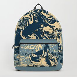 Dirt Track - Motocross Racing Backpack