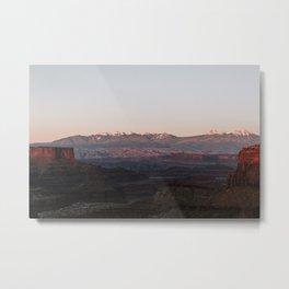 Sunset in Canyonlands National Park Metal Print