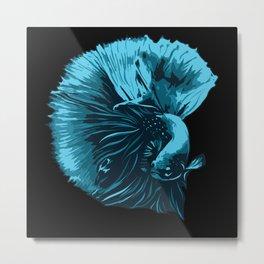 Guppy Lovers Fish Gift Idea Design Motif Metal Print