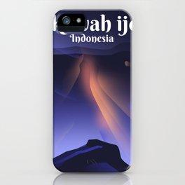 kawah ijen volcano iPhone Case