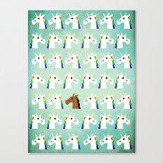 I'm A Horse Canvas Print