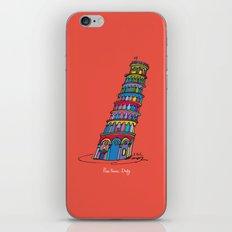 pisa tower iPhone & iPod Skin