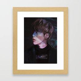 awake.jpg Framed Art Print