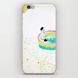float. iPhone Skin