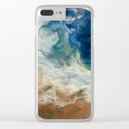 Tidal Plunge Clear iPhone Case