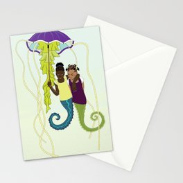 Aflan and Chaz Stationery Cards