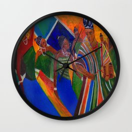 A Yoruba Wedding Wall Clock