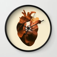 Heart Explorer Wall Clock
