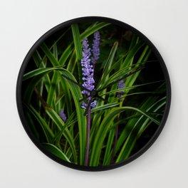 Wild flower... Wall Clock