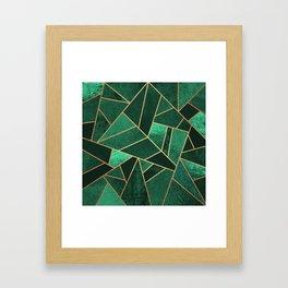 Emerald and Copper Gerahmter Kunstdruck