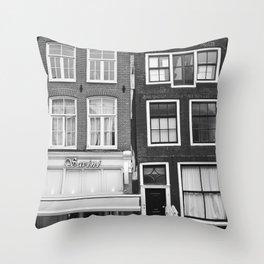 Love Amsterdam Houses and Bikes Deko-Kissen
