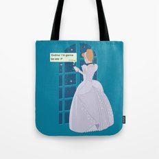 Cinderella - At home before midnight Tote Bag