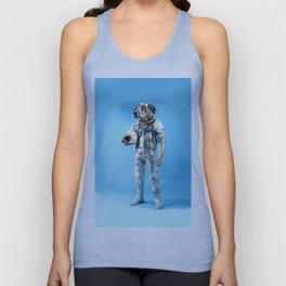 Astronaut-Dalmatian Unisex Tank Top