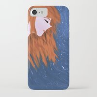 amy pond iPhone & iPod Cases featuring Amy by Jo Christine