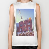 venice Biker Tanks featuring Venice by Yancey Wells