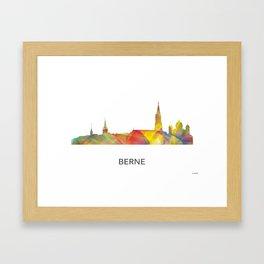 Berne Switzerland Skyline Framed Art Print
