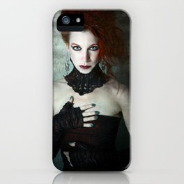 Gothic Noir iPhone Case