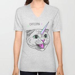 Catcorn Unisex V-Neck