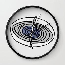 The Origin Of Love Eye Wall Clock