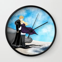 Sophie and Keefe Wall Clock