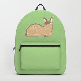 White-Tailed Deer Spring Green Backpack