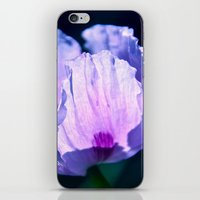 poppy iPhone & iPod Skins featuring Poppy by CrismanArt