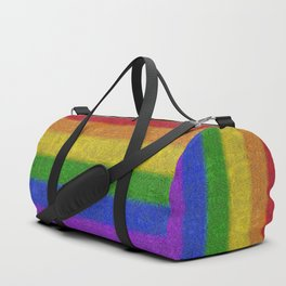 Rainbow Glitter Gradient Duffle Bag