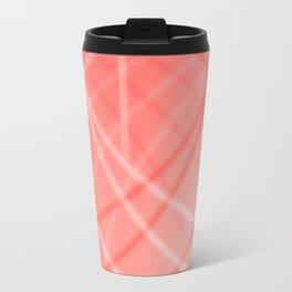 Red Background Travel Mug
