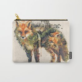 The Fox Nature Surrealism Carry-All Pouch