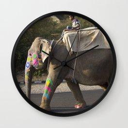 Holy Elephant Wall Clock